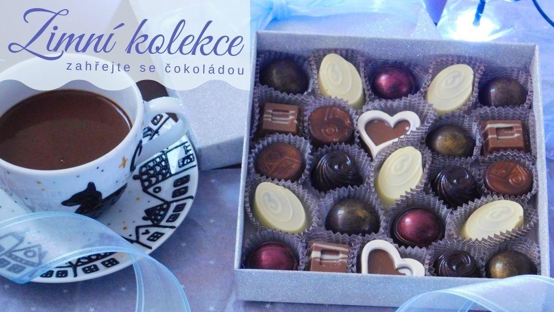 zimni čokoládové pralinky