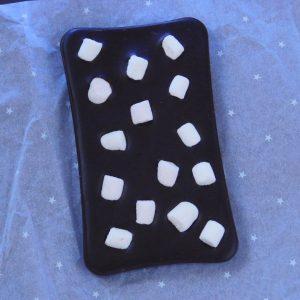 hořká čokoláda s marshmallow